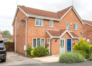 Thumbnail 3 bedroom semi-detached house for sale in Darwin Close, Huntington, York