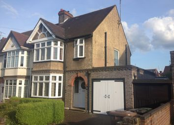 Thumbnail 3 bedroom semi-detached house to rent in Montrose Avenue, Luton