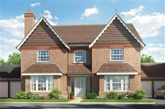 Thumbnail 5 bed detached house for sale in Cutbush Lane, Shinfield
