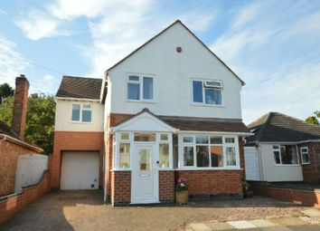 Thumbnail 4 bed detached house for sale in Grange Drive, Glen Parva, Leicester