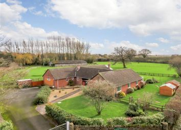 Thumbnail 5 bedroom equestrian property for sale in Crowmoor Lane, Tillington