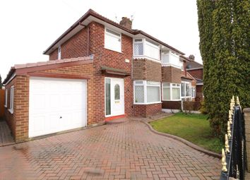 Thumbnail 3 bed semi-detached house for sale in Ashbrook Avenue, Denton, Manchester