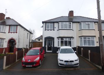Thumbnail 3 bedroom semi-detached house for sale in Crabourne Road, Dudley Wood, Dudley