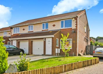 Thumbnail 3 bed semi-detached house for sale in Bridgemere Drive, Framwellgate Moor, Durham
