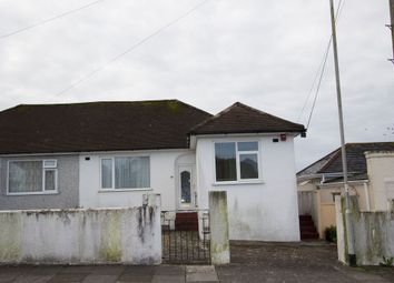 Thumbnail 2 bed semi-detached bungalow for sale in 86 Old Woodlands Road, Crownhill, Plymouth