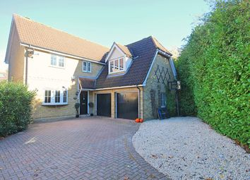 Thumbnail 4 bed detached house for sale in Framlingham Way, Great Notley, Braintree
