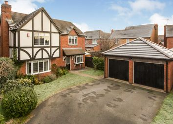 Thumbnail 4 bed detached house for sale in King Edward Close, Northwich, Cheshire