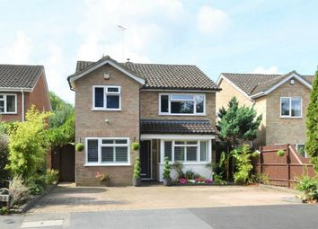 Thumbnail 4 bed detached house for sale in Wharfenden Way, Frimley Green, Camberley, Surrey