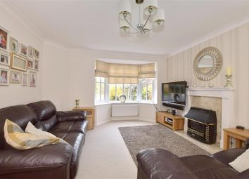 Thumbnail 4 bed detached house for sale in Uphill, Hawkinge, Folkestone, Kent
