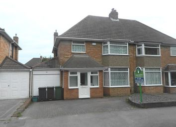 Thumbnail 3 bed semi-detached house to rent in Chestnut Drive, Castle Bromwich, Birmingham
