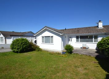 Thumbnail 3 bedroom semi-detached bungalow for sale in Menhyr Drive, Carbis Bay, St. Ives
