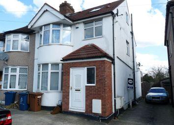 Thumbnail 3 bed flat to rent in Malvern Gardens, Kenton