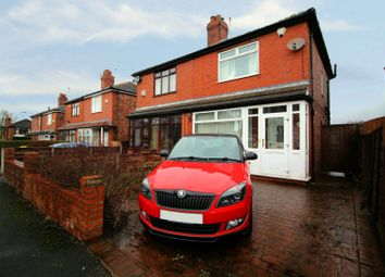 Thumbnail 2 bed semi-detached house for sale in Thornlea Avenue, Oldham, Greater Manchester