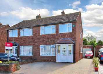 Thumbnail 3 bed semi-detached house for sale in Harold Road, Hawley, Dartford, Kent