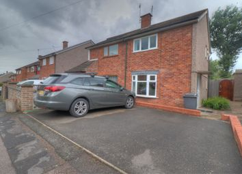 Thumbnail 2 bed semi-detached house for sale in Brook Road, Thurncourt, Leicester