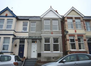 Thumbnail 3 bed terraced house to rent in Pounds Park Road, Plymouth