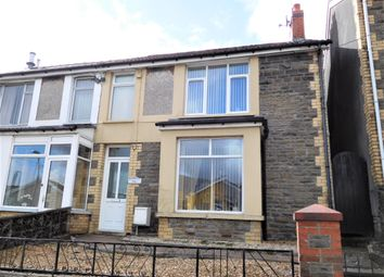 Thumbnail 3 bed semi-detached house for sale in Cardiff Road, Bargoed, Caerphilly