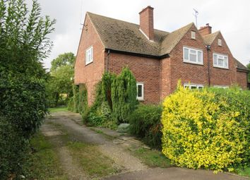Thumbnail 3 bedroom semi-detached house for sale in Church Street, Holme, Peterborough