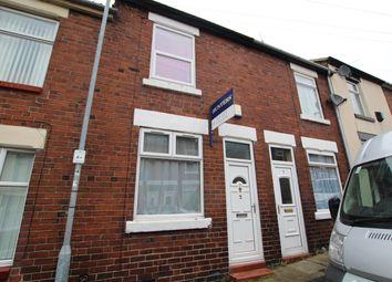 Thumbnail 2 bed terraced house to rent in Broadhurst Street, Stoke-On-Trent