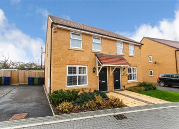 Thumbnail 2 bed semi-detached house for sale in Baumgartner, Godmanchester, Huntingdon, Cambridgeshire