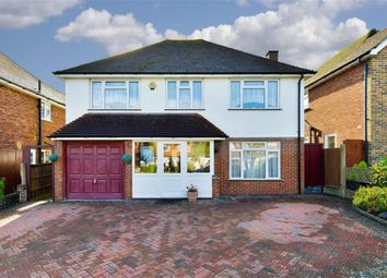 Thumbnail 4 bed detached house for sale in Cleves Avenue, Epsom, Surrey