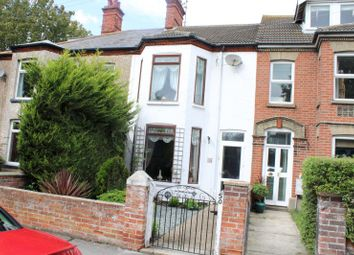 Thumbnail 3 bed terraced house to rent in Acton Road, Pakefield, Lowestoft