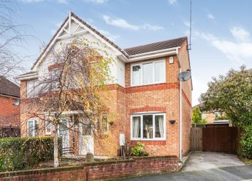 Thumbnail 3 bedroom semi-detached house for sale in Elmstone Close, Manchester