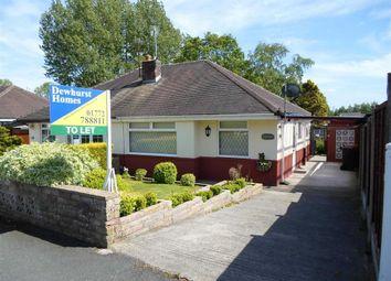 Thumbnail 2 bedroom semi-detached bungalow to rent in Ashton Close, Ashton-On-Ribble, Preston