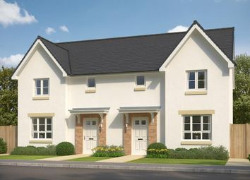 "Thumbnail 3 bedroom semi-detached house for sale in ""Craigend"" at Glasgow Road, Kilmarnock"