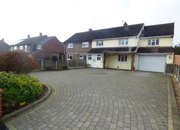 Thumbnail 5 bed semi-detached house for sale in Tees Drive, Romford, Essex