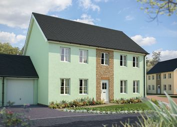 "Thumbnail 4 bedroom detached house for sale in ""The Harriett"" at Fremington, Barnstaple, Devon, Fremington"