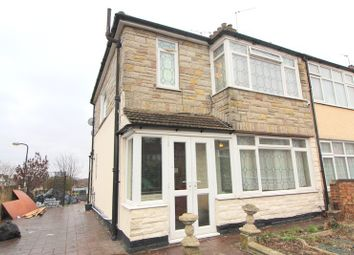 Thumbnail 3 bed end terrace house to rent in Garland Road, Plumstead, London