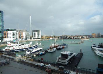 Thumbnail 2 bedroom flat to rent in Maritime Walk, Ocean Village, Southampton