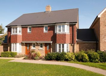 Thumbnail 3 bed semi-detached house for sale in Contessa Close, Kings Hill, West Malling