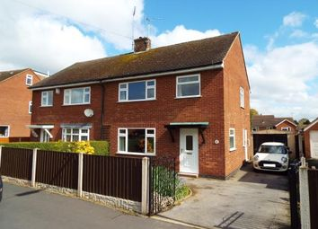 Thumbnail 3 bed semi-detached house for sale in Hawthornden Avenue, Uttoxeter, Staffordshire