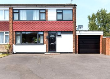 Thumbnail 3 bed semi-detached house to rent in Crockford Close, Addlestone