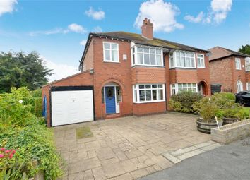 Thumbnail 3 bed semi-detached house for sale in Ashfield Grove, Davenport, Stockport, Cheshire