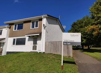 Thumbnail 3 bed property to rent in Furze Road, Totnes