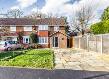 Thumbnail 3 bedroom end terrace house for sale in Claremont, Bricket Wood, St. Albans