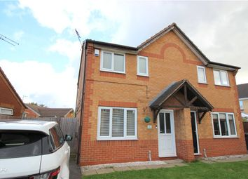 Thumbnail 2 bed semi-detached house for sale in Consort Gardens, Oakwood, Derby