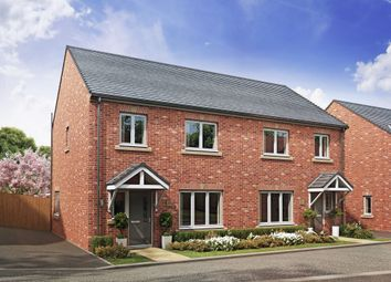 Thumbnail 3 bed semi-detached house for sale in The Halt, Warmsworth, Doncaster