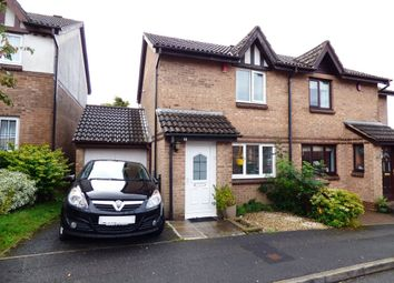 Thumbnail 2 bed semi-detached house for sale in Wellfield Close, Plympton, Plymouth