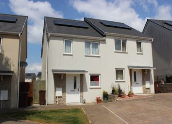 Thumbnail 2 bed semi-detached house for sale in Overdale Road, Plymouth