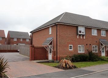 Thumbnail 3 bed end terrace house for sale in May Drive, Leicester
