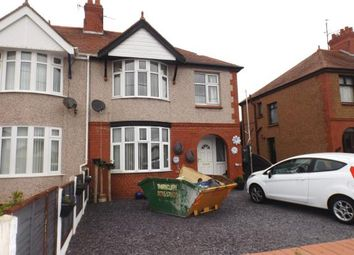 Thumbnail 3 bed semi-detached house for sale in Dyserth Road, Rhyl, Denbighshire