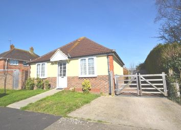 Thumbnail 2 bed detached bungalow for sale in Castle Road, Worthing, West Sussex