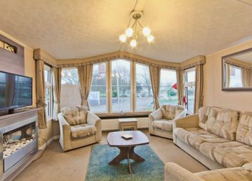 Thumbnail 2 bed mobile/park home for sale in Corton, Lowestoft, Suffolk