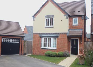 Thumbnail 3 bed detached house for sale in Plum Crescent, Burbage, Hinckley