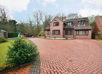 Thumbnail 4 bed detached house for sale in Station Road, Keele, Newcastle-Under-Lyme