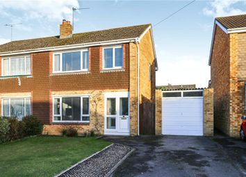 Thumbnail 3 bed semi-detached house for sale in Avon Crescent, Romsey, Hampshire